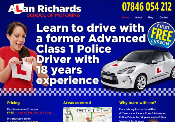 Alan Richards Website