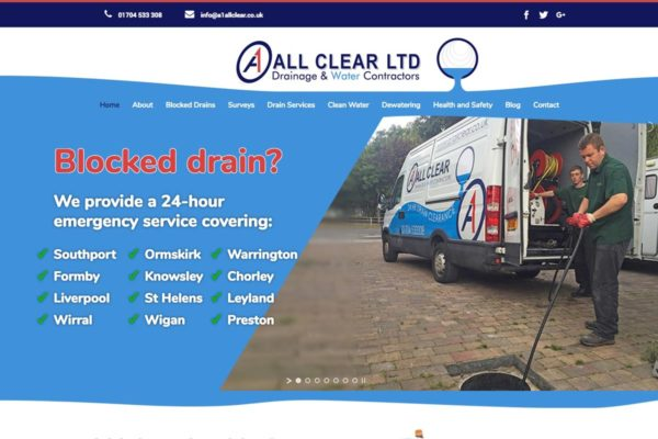 A1 screen | Website Design Southport by Leeming Design