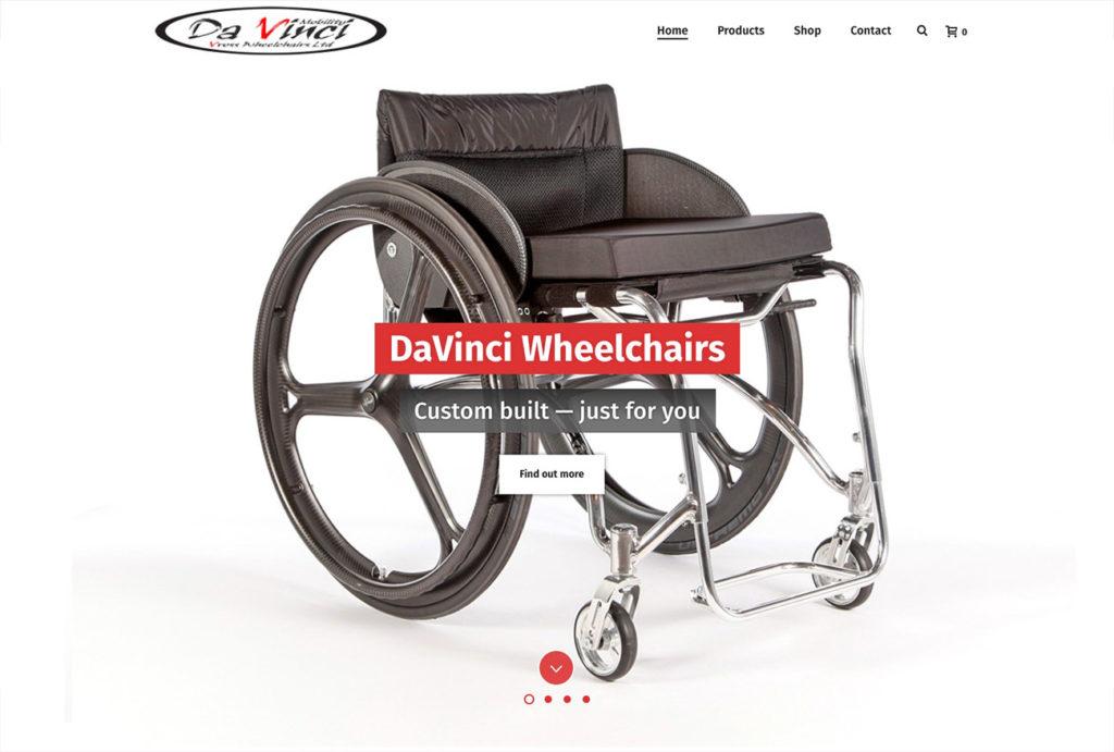 Dav screen | Website Design Southport by Leeming Design