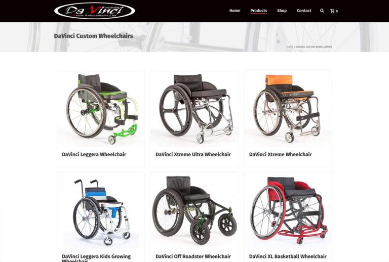 Dav screen   Website Design Southport by Leeming Design